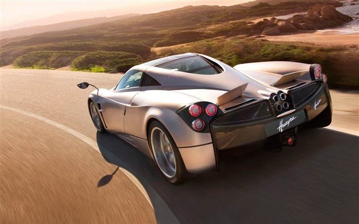 pagani huayra speedcam-2012 luxury car HD wallpaper Views:15082