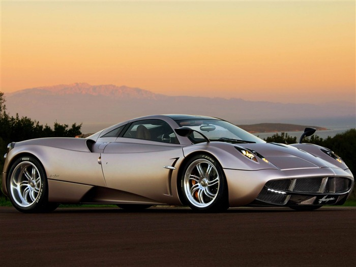 pagani huayra sunset-2012 luxury car HD wallpaper Views:19191