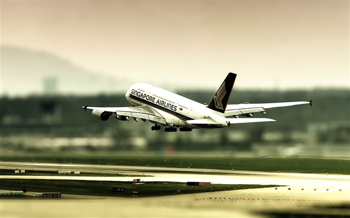 singapore airlines-airplane Wallpapers Views:7464