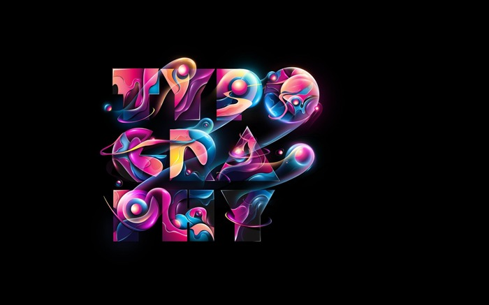 typography-Creative graphic design Wallpapers Views:24586