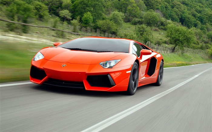 2012 Lamborghini Aventador LP700-4 Auto HD Wallpaper 04 Views:4550