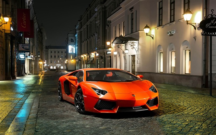 2012 Lamborghini Aventador LP700-4 Auto HD Wallpaper 06 Views:9554