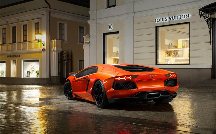 2012 Lamborghini Aventador LP700-4 Auto HD Wallpaper 07 Views:4853