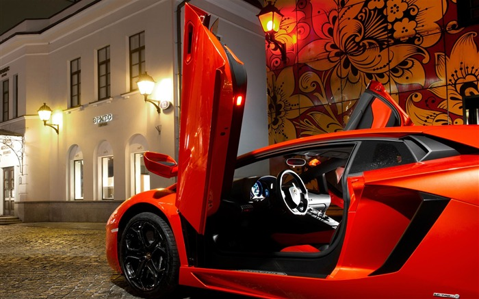 2012 Lamborghini Aventador LP700-4 Auto HD Wallpaper 08 Views:4674