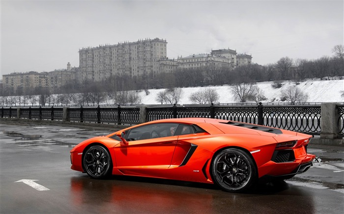 2012 Lamborghini Aventador LP700-4 Auto HD Wallpaper 14 Views:4712