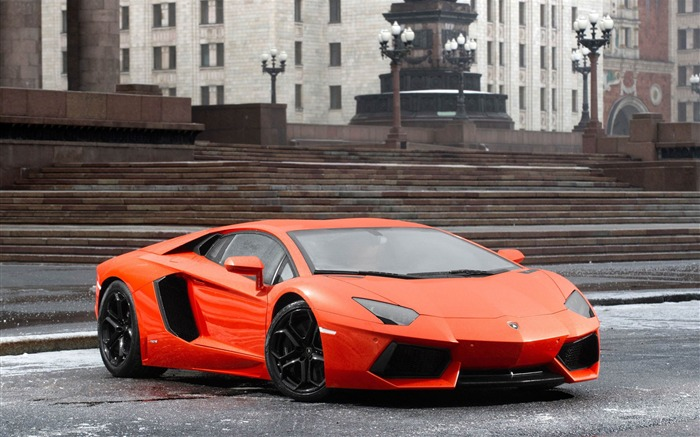 2012 Lamborghini Aventador LP700-4 Auto HD Wallpaper 18 Views:3601