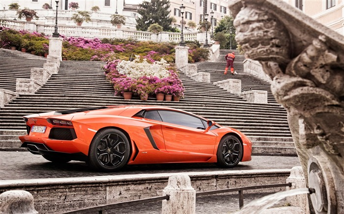 2012 Lamborghini Aventador LP700-4 Auto HD Wallpaper 23 Views:3551