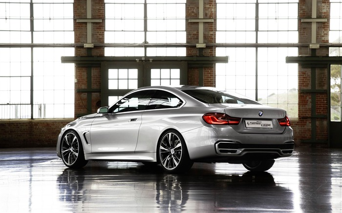 2013 BMW 4 Series Coupe Concept Auto HD Wallpaper 01 Views:6122