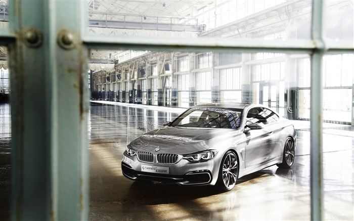 2013 BMW 4 Series Coupe Concept Auto HD Wallpaper 05 Views:5057