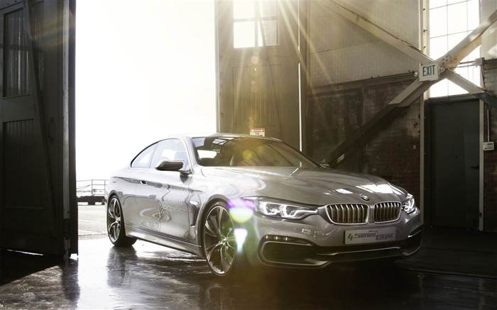 2013 BMW 4 Series Coupe Concept Auto HD Wallpaper 06 Views:5431