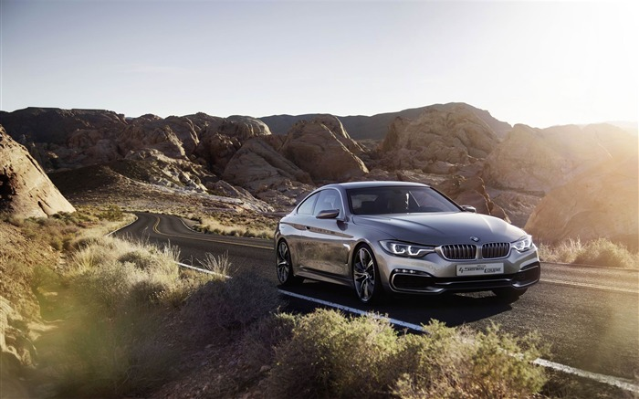 2013 BMW 4 Series Coupe Concept Auto HD Wallpaper 15 Views:5360