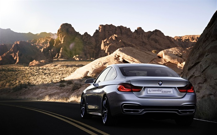2013 BMW 4 Series Coupe Concept Auto HD Wallpaper 24 Views:2468