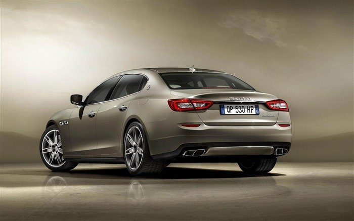 2013 Maserati Quattroporte Auto HD Wallpaper 02 Views:3713