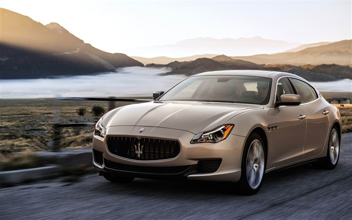 2013 Maserati Quattroporte Auto HD Wallpaper 05 Views:5191