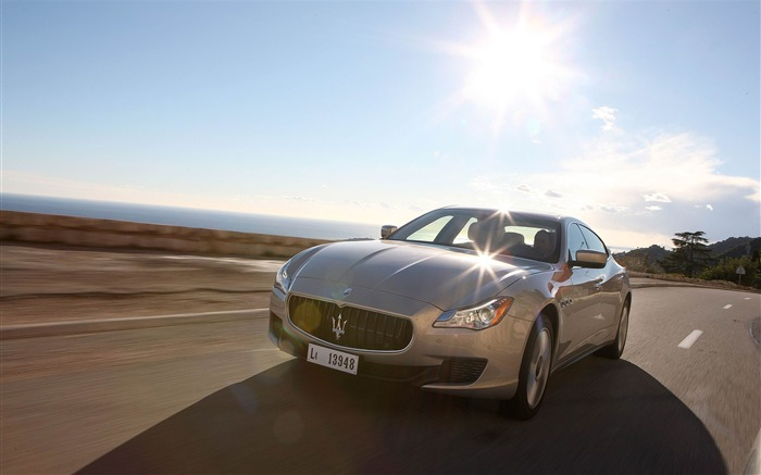 2013 Maserati Quattroporte Auto HD Wallpaper 07 Views:3996