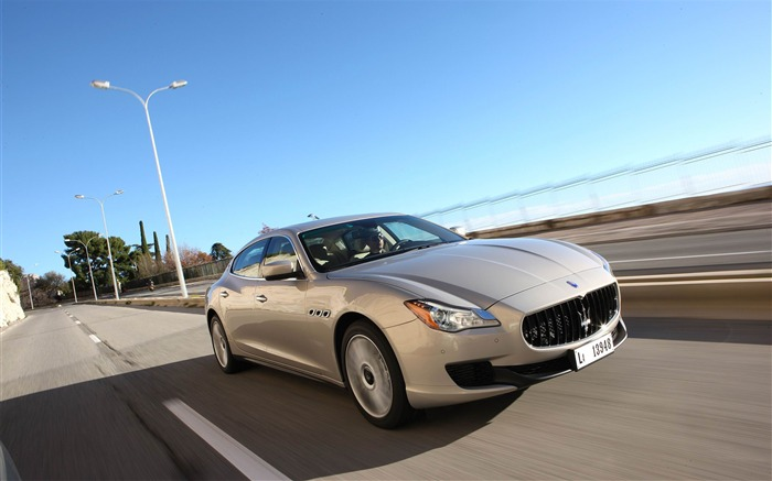 2013 Maserati Quattroporte Auto HD Wallpaper 08 Views:6359