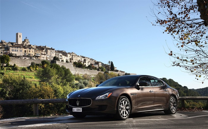 2013 Maserati Quattroporte Auto HD Wallpaper 10 Views:3858