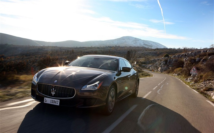 2013 Maserati Quattroporte Auto HD Wallpaper 11 Views:4723