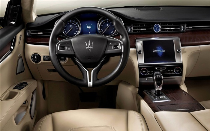 2013 Maserati Quattroporte Auto HD Wallpaper 27 Views:2071