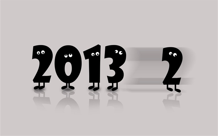 Happy New Year 2013 theme desktop Wallpaper 01 Views:4874