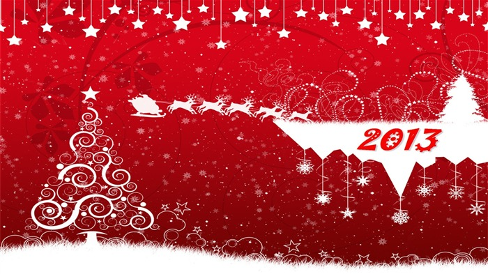 Happy New Year 2013 theme desktop Wallpaper 04 Views:11438