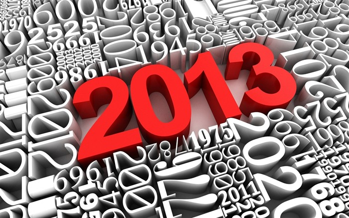 Happy New Year 2013 theme desktop Wallpaper 10 Views:30550