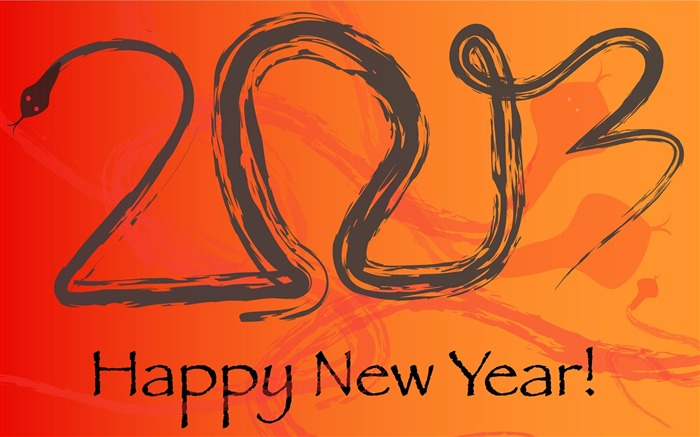 Happy New Year 2013 theme desktop Wallpaper 14 Views:4262