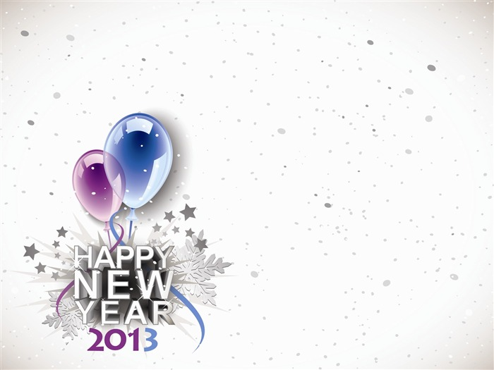 Happy New Year 2013 theme desktop Wallpaper 22 Views:7195