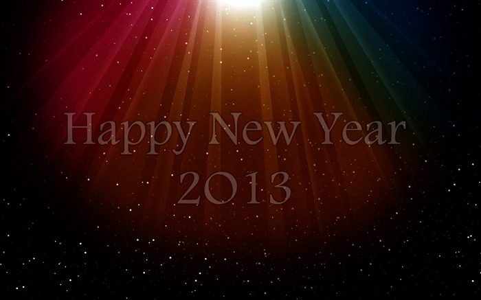 Happy New Year 2013 theme desktop Wallpaper 28 Views:5571
