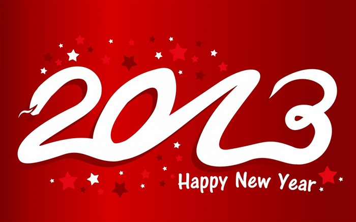 Happy New Year 2013 theme desktop Wallpapers Views:22146
