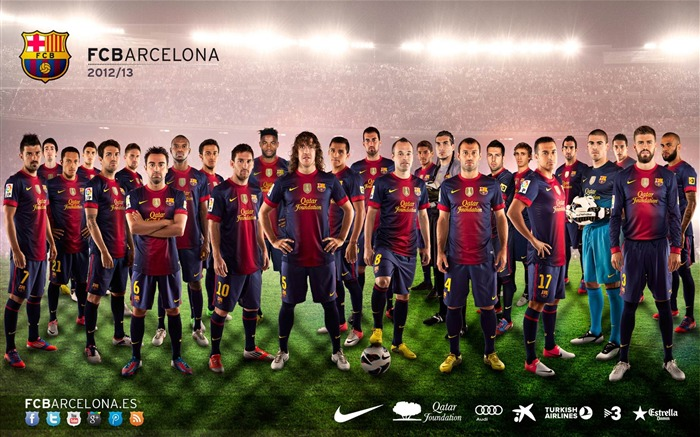 Fc Barcelona Football Club Hd Desktop Wallpapers Album List Page1 10wallpaper Com