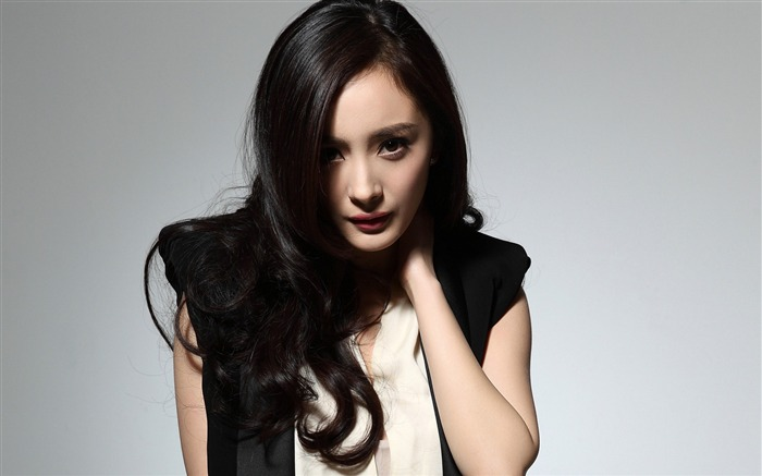 YangMi-Chinese star beautiful actress HD photo wallpaper 01 Views:9568
