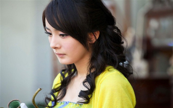 YangMi-Chinese star beautiful actress HD photo wallpaper 02 Views:13553