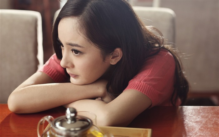 YangMi-Chinese star beautiful actress HD photo wallpaper 05 Views:13908