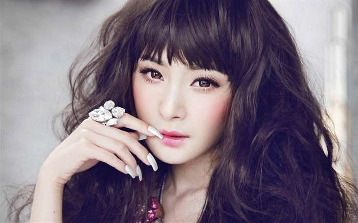 YangMi-Chinese star beautiful actress HD photo wallpaper 09 Views:11819