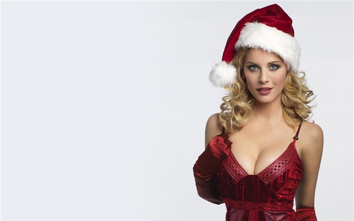 beautiful sexy Christmas theme photo wallpaper 03 Views:11007