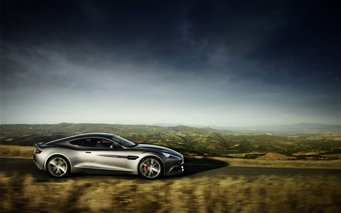 2013 Aston Martin AM 310 Vanquish Auto HD Wallpaper 08 Views:4786