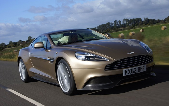 2013 Aston Martin AM 310 Vanquish Auto HD Wallpaper 10 Views:4446