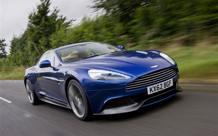 2013 Aston Martin AM 310 Vanquish Auto HD Wallpaper 19 Views:3813