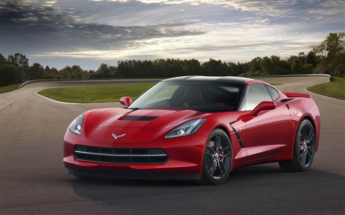 2014 Chevrolet Corvette C7 Stingray Auto HD Wallpapers Views:10226