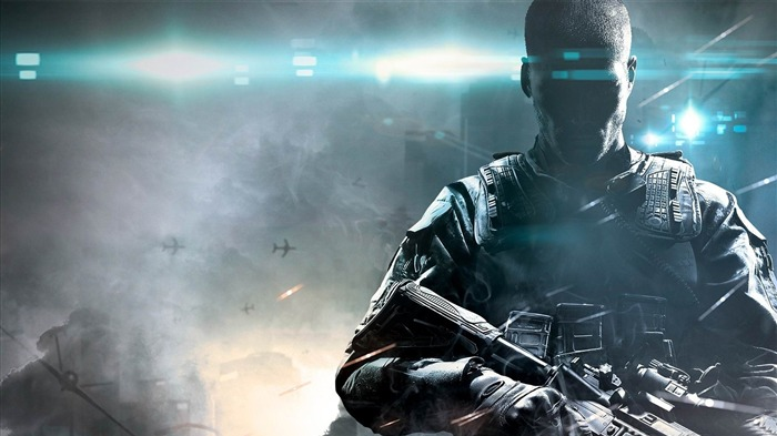Call of Duty Black Ops 2-2012 Game Featured HD Wallpaper Views:12130