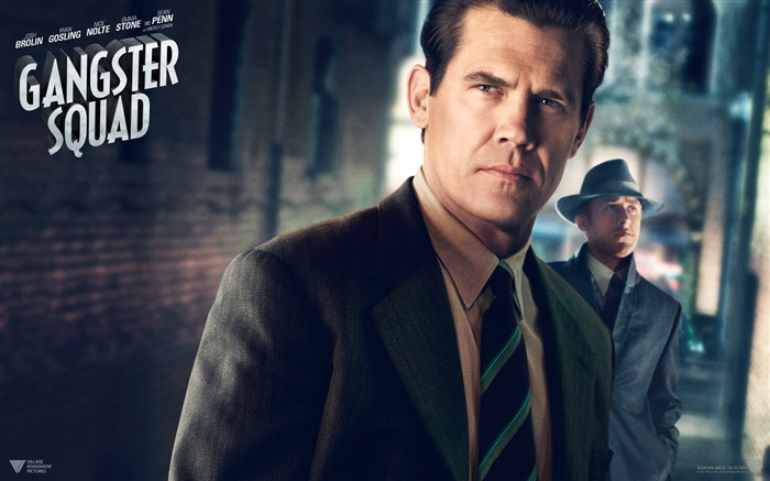 Gangster Squad 2013 Movie HD Desktop Wallpaper 01 Views:3572