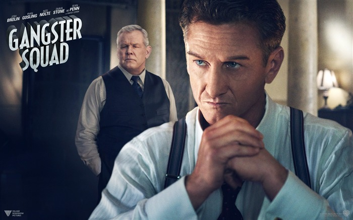 Gangster Squad 2013 Movie HD Desktop Wallpaper 04 Views:3649