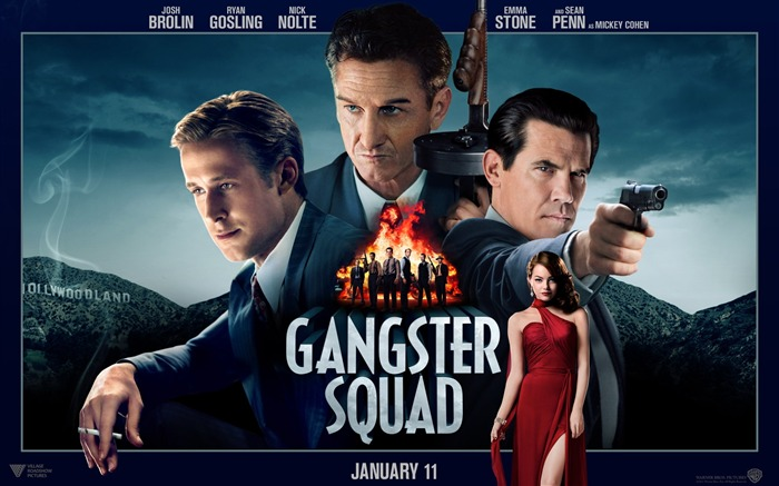 Gangster Squad 2013 Movie HD Desktop Wallpaper 05 Views:4023