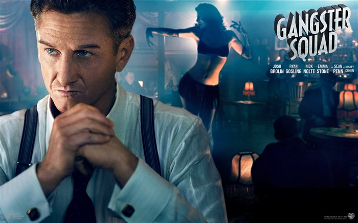 Gangster Squad 2013 Movie HD Desktop Wallpaper 08 Views:3607