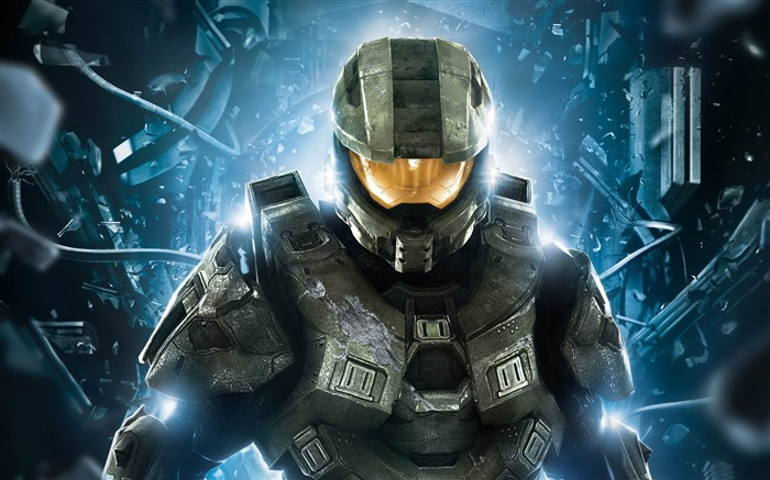HALO 4 MASTER CHIEF-2012 Game Featured HD Wallpaper Views:8307