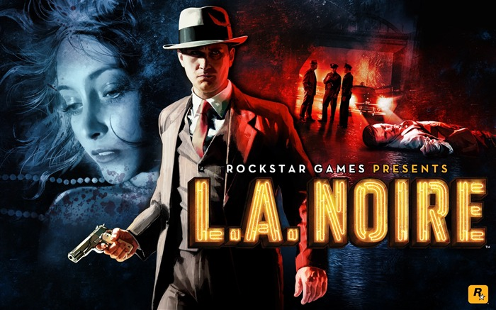 LA Noire Game HD Desktop Wallpapers Views:5421