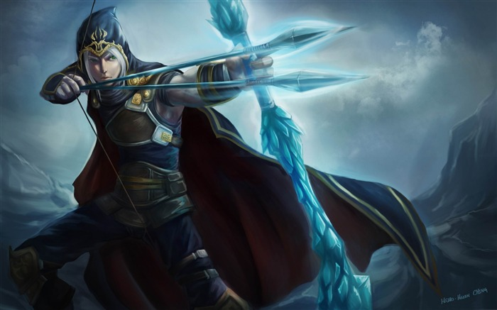 League of Legends-2012 Game Featured HD Wallpaper Views:18109