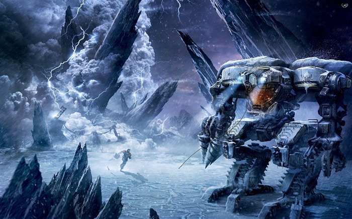 Lost Planet-2012 Game Featured HD Wallpaper Views:3810