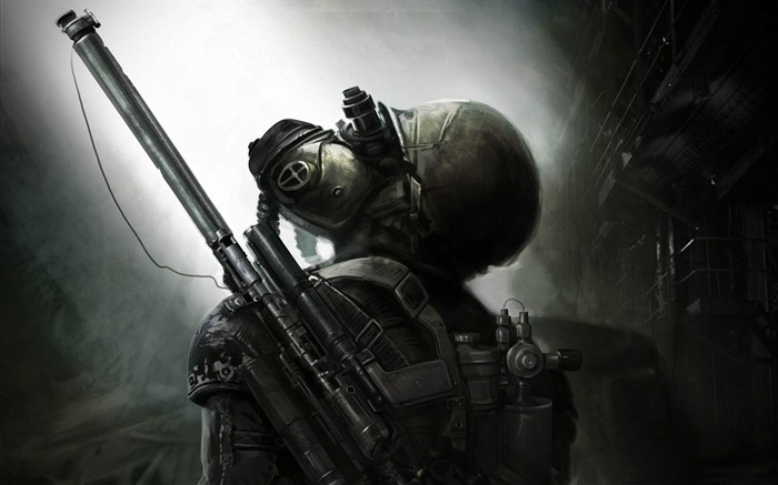 METRO Last Light-2012 Game Featured HD Wallpaper Views:5502